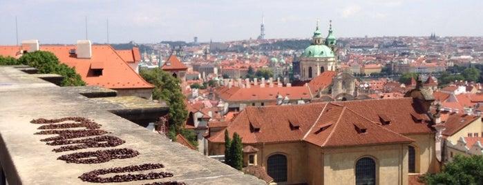 Starbucks is one of Prague.
