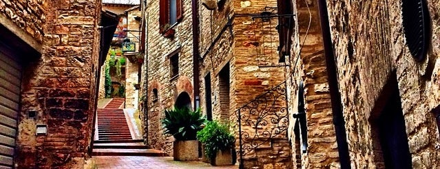 Assisi is one of Re-discover Europe 2014.