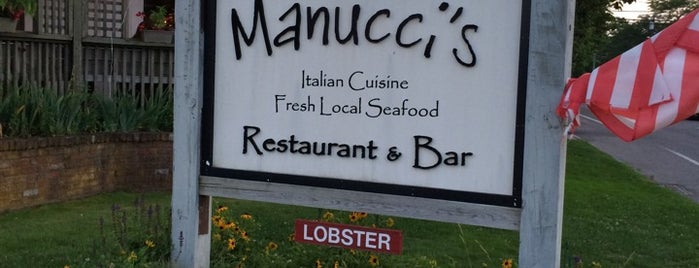 Manucci's is one of Montauk, NY.