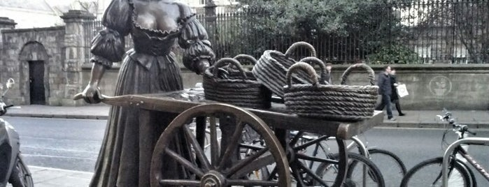Molly Malone Statue is one of Summit reunions (Things to do and see).