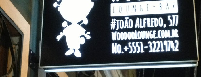 Woodoo Lounge Bar is one of Bares e restaurantes.