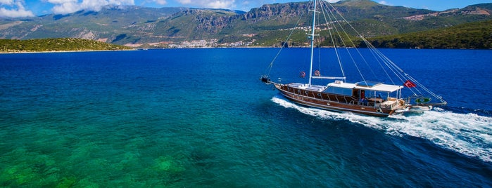 BOAT TRIPS BY CAPTAIN ERGUN is one of kas.