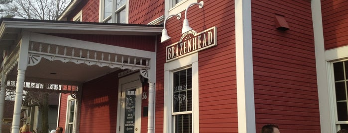 Brazenhead Irish Pub is one of Top 10 restaurants when money is no object.
