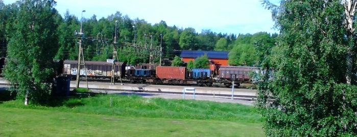 Vännäs Station is one of Tågstationer - Sverige.