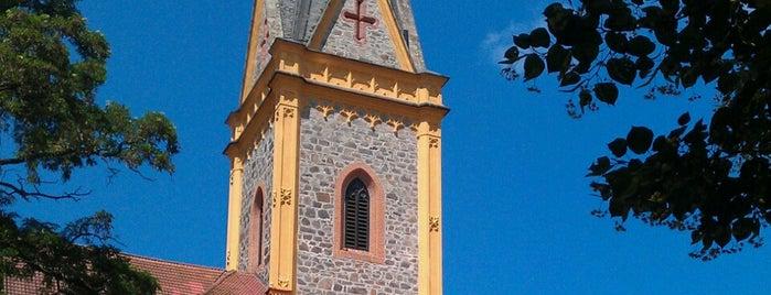 Kostel sv. Jana Nepomuckého is one of churches.