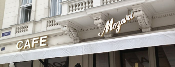 Café Mozart is one of Food & Fun - Vienna, Graz & Salzburg.