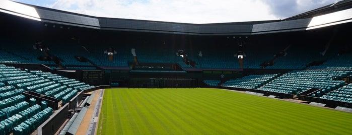 Wimbledon Museum is one of Wimbledon walk.