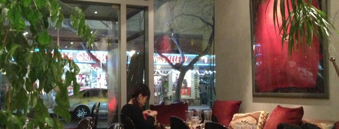 Olas Tapas Café is one of TheNomNomPlacesThat!HeartInBeijing.