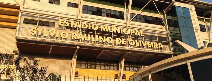 Estádio da Cidadania - Raulino de Oliveira is one of Todo dia ela faz tudo sempre igual....