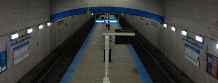 CTA - Logan Square is one of CTA Blue Line.