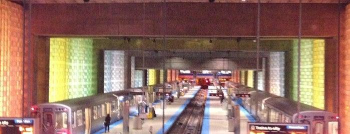 CTA - O'Hare is one of CTA Blue Line.