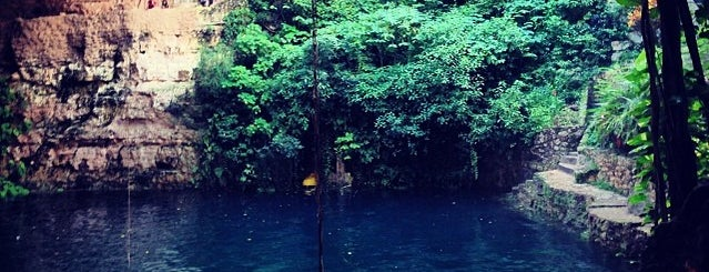 Cenote Zací is one of México.