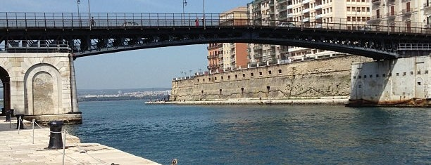Ponte Girevole is one of South Italy.