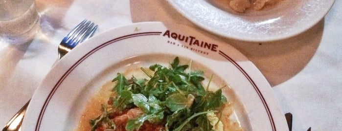 Aquitaine is one of Lunch, Anyone?.