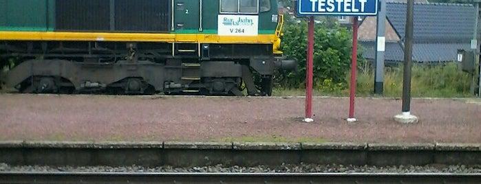 Station Testelt is one of Bijna alle treinstations in Vlaanderen.