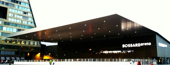 Bossard Arena is one of JYM Hockey Arenas TOP100.