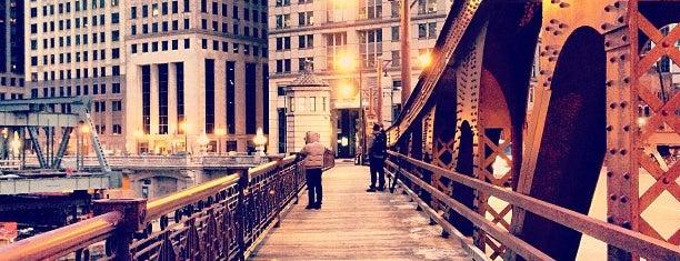 Franklin Street Bridge is one of Chicago.
