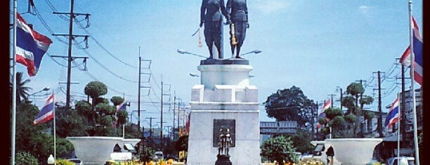 Thep Kasatri & Si Sunthon Heroines Monument is one of Places.