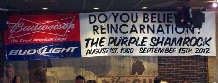The Purple Shamrock is one of Boston.