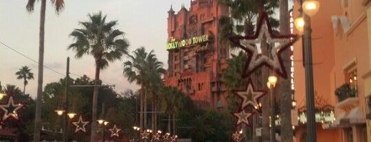 Hollywood Boulevard is one of Walt Disney World.