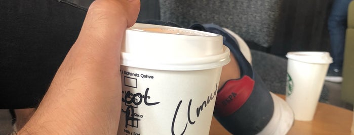 Starbucks is one of Baku.