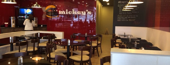 Mickey's Sliders is one of Texas A&M.
