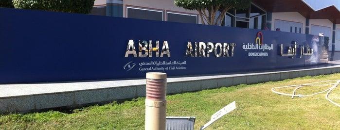 Abha International Airport is one of مطارات.