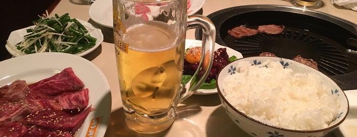 焼肉 ばりばり亭 is one of 渋谷ヒカリエ・宮益坂.