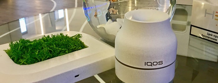 IQOS space is one of Kyiv.