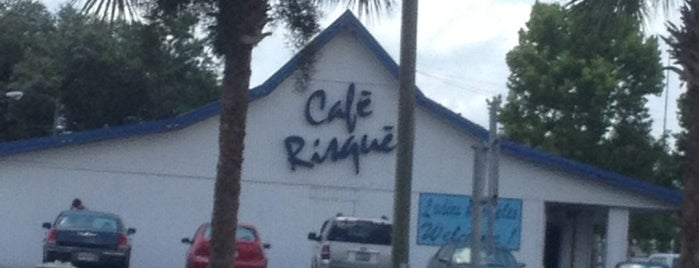 Cafe Risqué is one of FUN.