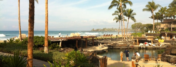 Four Seasons Resort Hualalai at Historic Ka`upulehu is one of Hawaii.