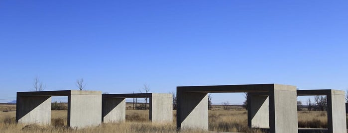 The Chinati Foundation is one of Marfa.