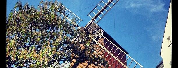 Le Moulin de la Galette is one of Paris.