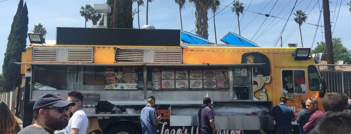 Leo's Taco Truck is one of LA: Central, East, Valleys.