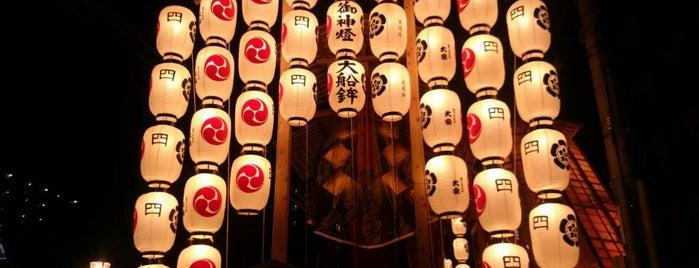 大船鉾 is one of Sanpo in Gion Matsuri.