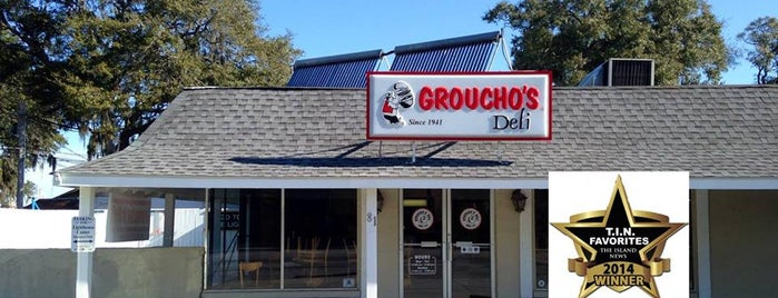 Groucho's Deli of Beaufort is one of Beaufort, SC - Restaurants.