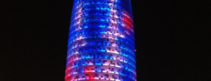 Torre Agbar is one of Barselona.