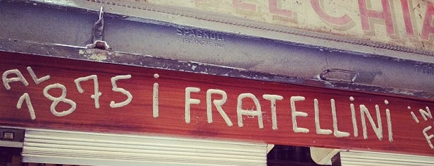 I due Fratellini is one of Florence Bars, Cafes, Food, POI.
