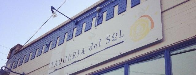 Taqueria Del Sol is one of Nashville Restaurants.