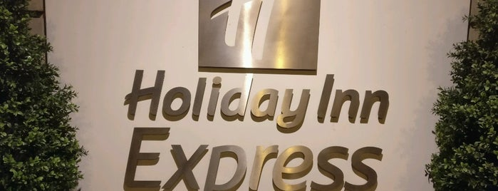 Holiday Inn Express Edinburgh - Royal Mile is one of Hoteles donde estuve.