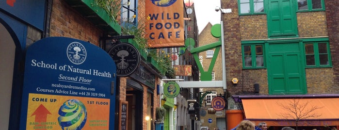 Wild Food Cafe is one of Places to eat.