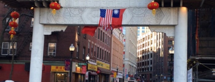 Chinatown is one of USA East Coast.