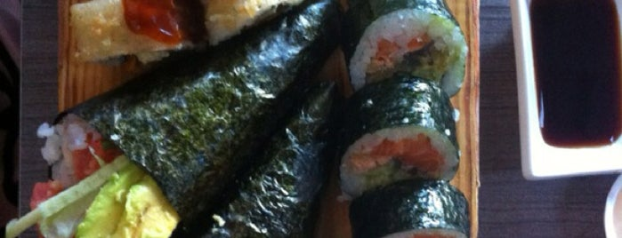 Sushi Rehavia is one of Favorite Food.