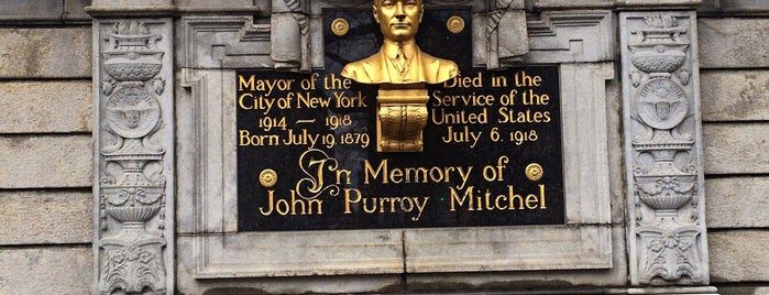 John Purroy Mitchel Memorial is one of NYC Monuments & Parks.