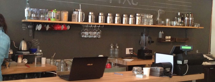 Fixe Café Bistro is one of Worldwide Coffee Guide.