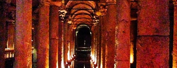 Basilica Cistern is one of 36 hours in...Istanbul.