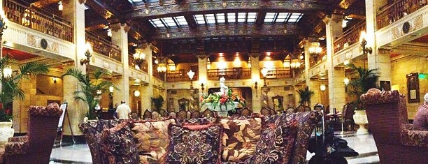 The Davenport Hotel is one of Visited Here.