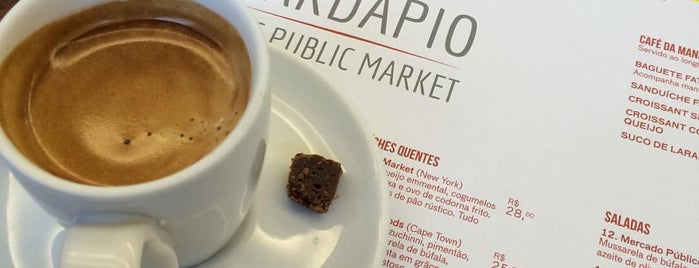 The Public Market is one of Coffee & Tea.