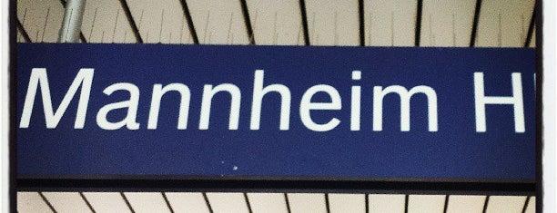 Mannheim Hauptbahnhof is one of Bahnhöfe Deutschland.