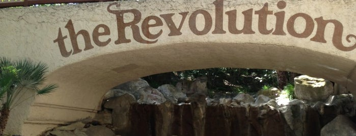 Revolution is one of Six Flags Magic Mountain Roller Coasters.